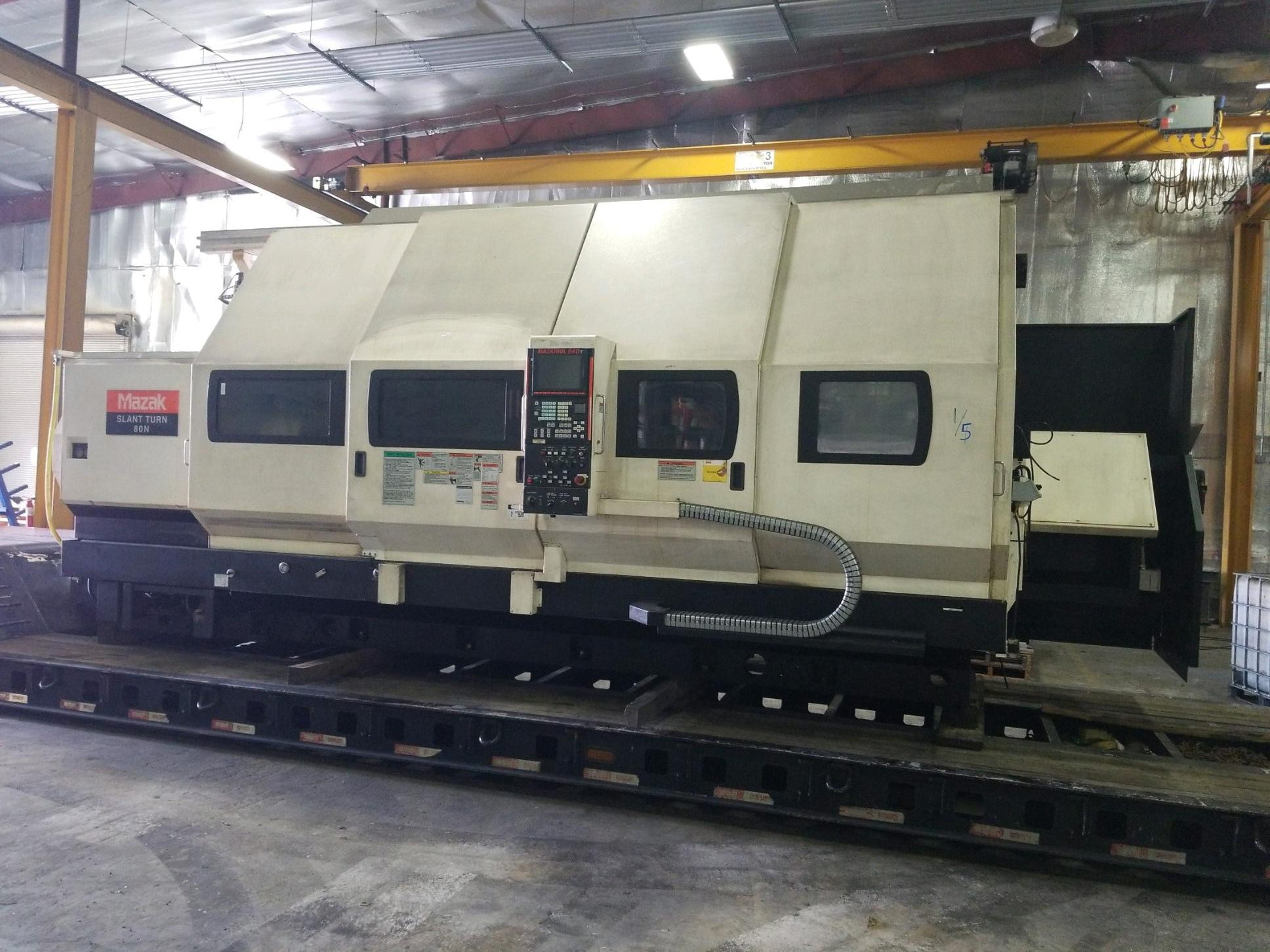 MAZAK CNC LATHE & SLANT TURN MACHINE TRANSPORTATION