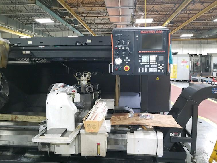 Mazak Lathe Machinery Movers Dallas 2