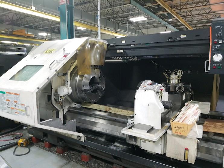 Mazak Lathe Machinery Movers Dallas